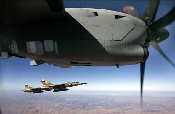 Mirage F-1 Marrocos - foto J C Carvalho visao