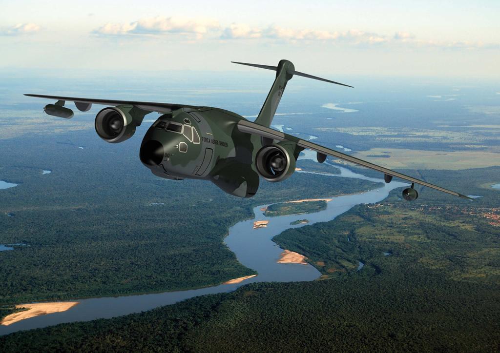concepção KC-390 imagem Embraer