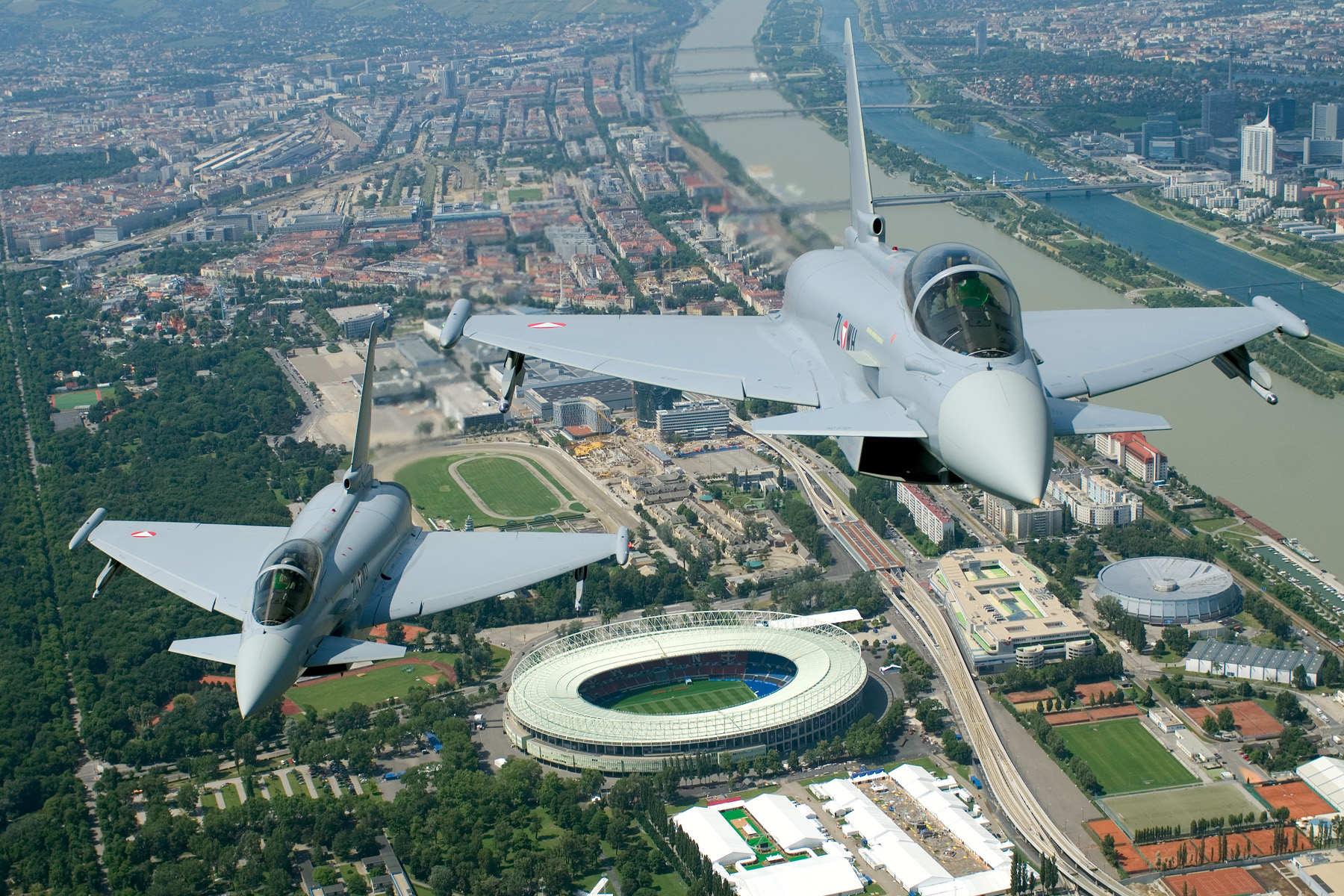 Eurofighter Typhoon Austria - foto Osterreichs Bundesheer