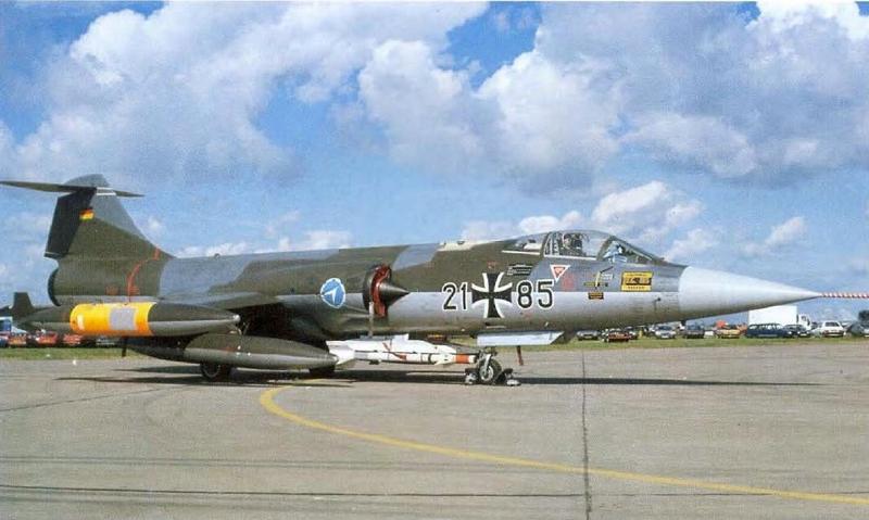 F-104G-luftwaffe