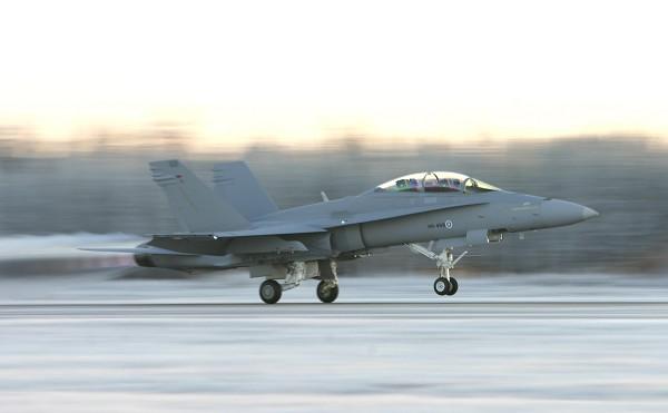 F-18 D Hornet - foto Força Aérea Finlandesa via Patria