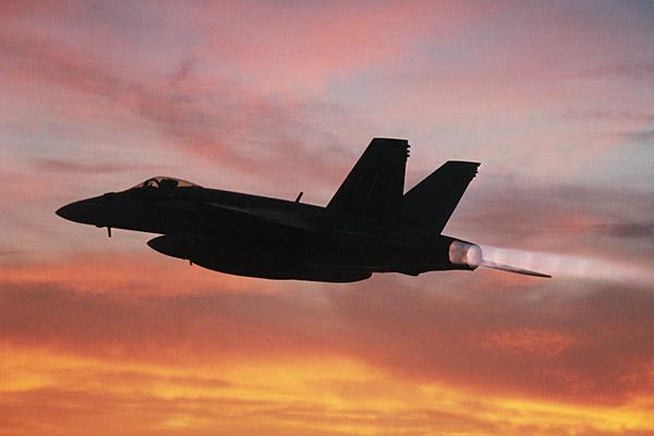 F-18 E - foto Boeing
