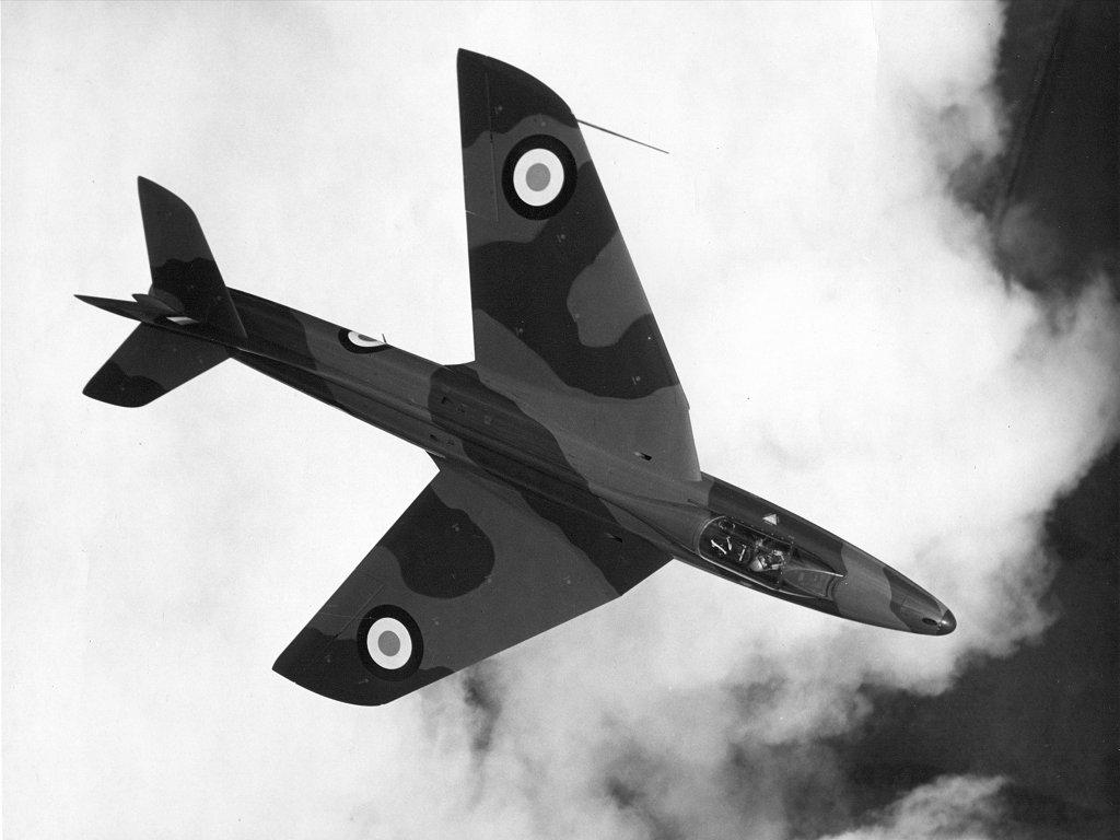 Hawker Hunter - foto RAF