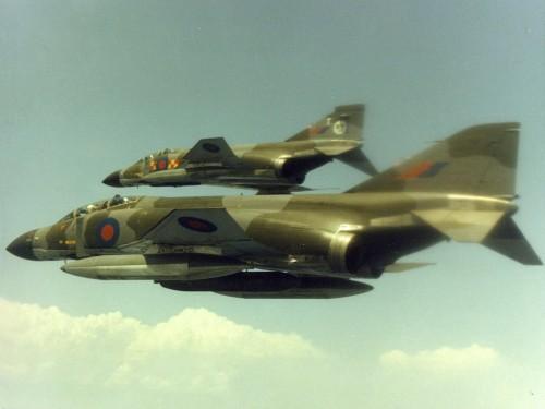 Phantom - foto RAF