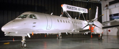 Saab 2000 Pakistan Air Force 1