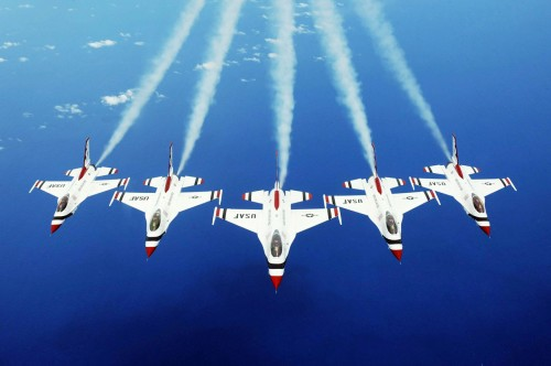 Thunderbirds take the show down under