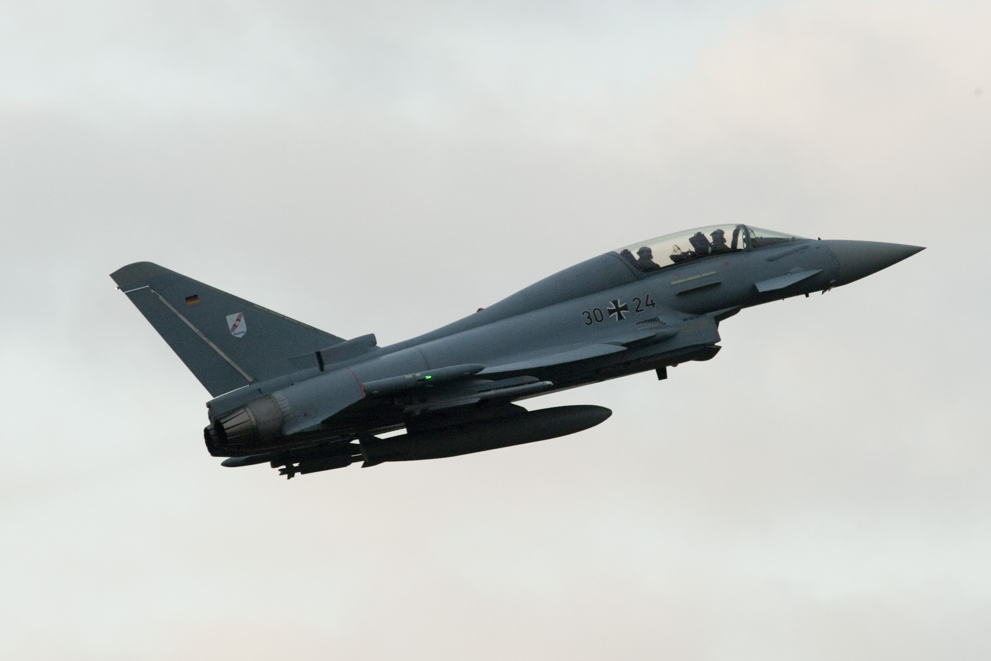 Typhoon do Boelcke - foto Eurofighter