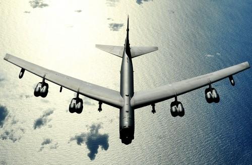 B-52 sobre o Pacífico