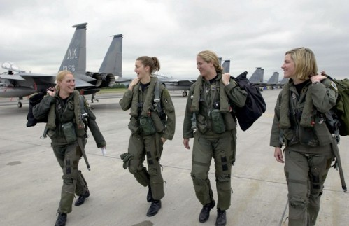 F-15 pilots