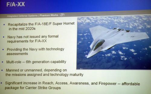 FAXX slide Boeing July 2009