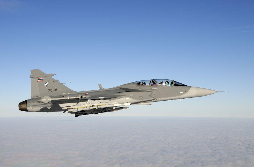 Gripen Tailândia - foto Saab via Gripen International - P Liander