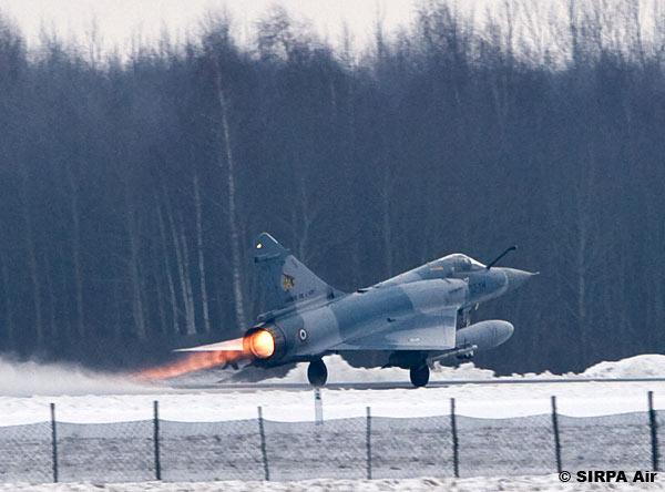 Mirage 2000 C na Lituania - foto Armee de lair