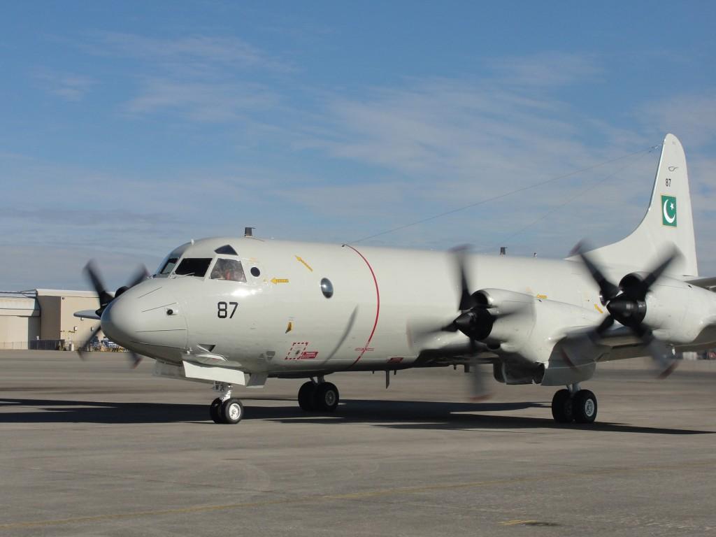 P-3 Paquistão segundo entregue - foto Lockheed Martin