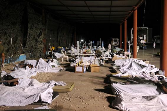 situacao na base da missão de paz brasileira  - foto Agencia Brasil -  Roosewelt Pinheiro