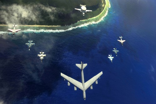 B-52-and-friens-over-Guam-Cope-North-2010