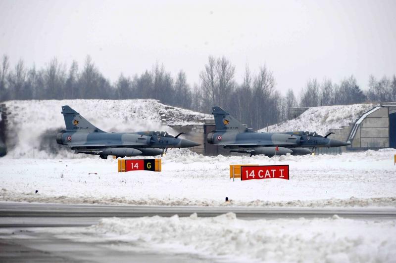 M-2000 no báltico 5 - foto Ministerio da Defesa da Lituania e Armee de lair
