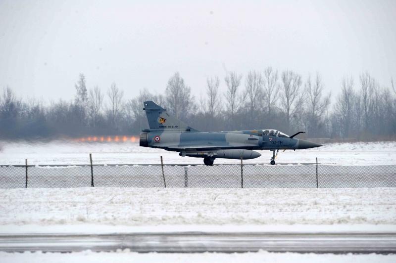 M-2000 no báltico 6 - foto Ministerio da Defesa da Lituania e Armee de lair