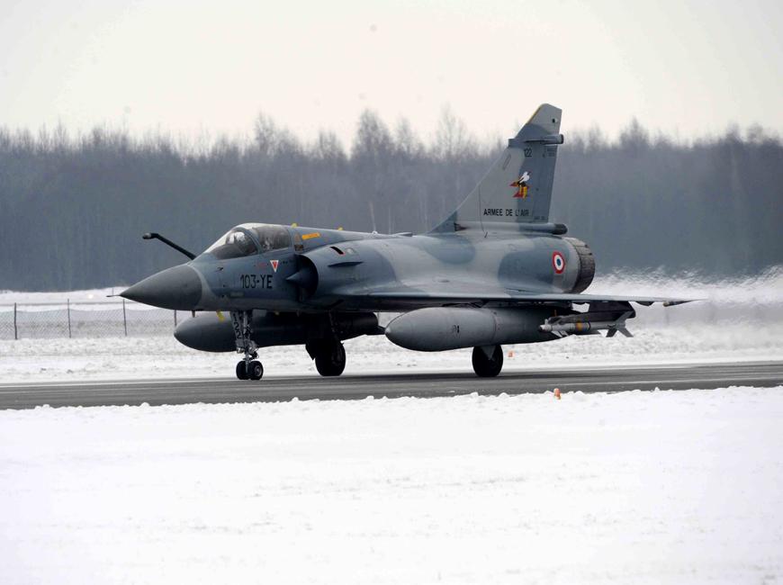 M-2000 no báltico - foto Armee de lair
