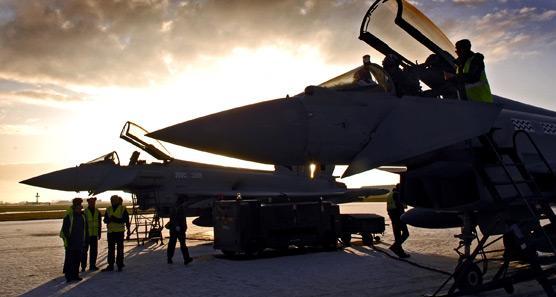 Typhoon - foto RAF