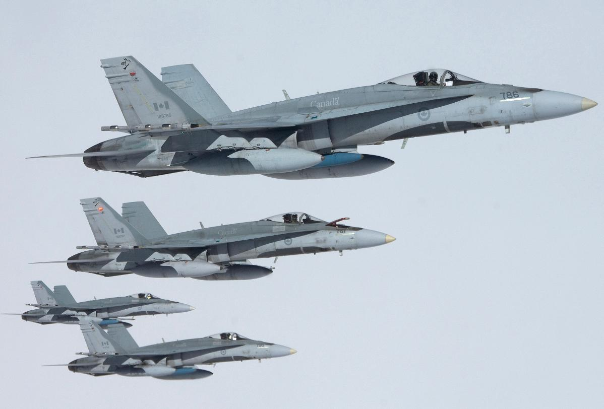 CF-18 Hornet Canadá - fotoForça Aérea Canadense