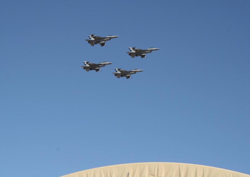 F-16 desfile 80 anos FACH V Brigada aérea - foto FACH