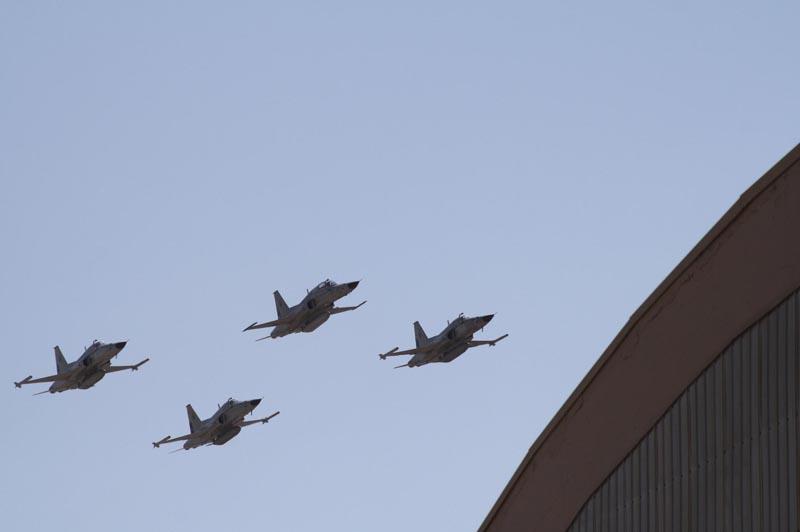 F-5 Tiger III deixam Antofagasta- foto 2 FACH