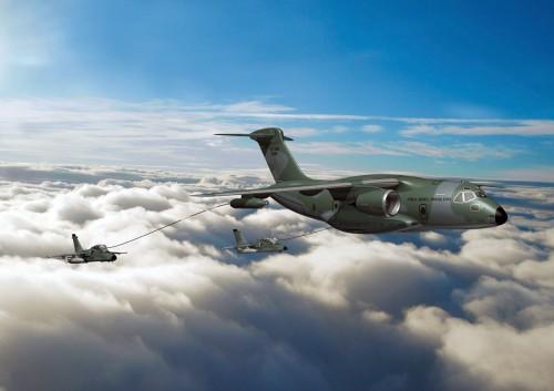 KC-390 e A-1