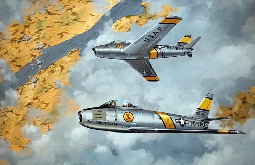 MiG-15-versus-F-86