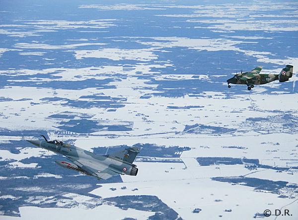 Mirage 2000 C e Antonov 28 - foto Armee de lair