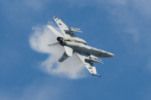 Super Hornet Farnborough 2008