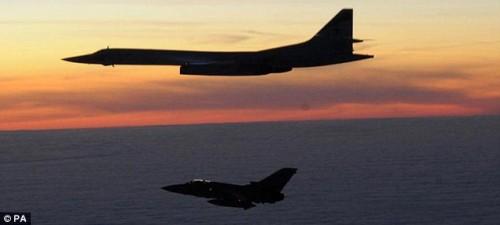 Tornado F3 RAF e Tu-160