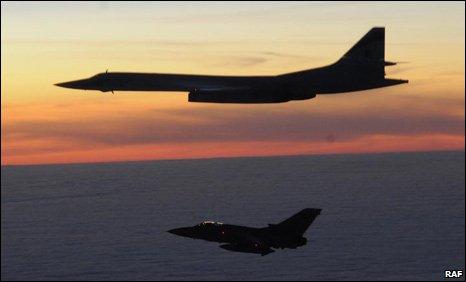 Tornado e Tu-160
