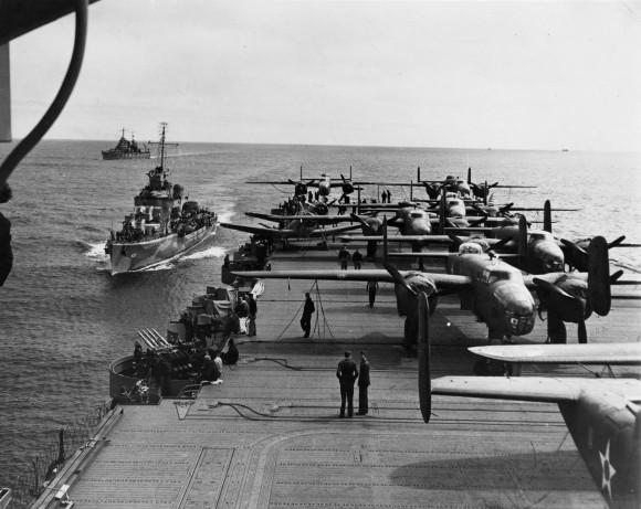 B-25 Mitchell bombers Doolittle Tokyo Raiders