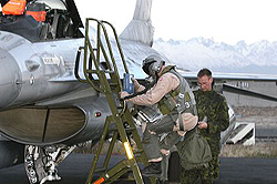 Danish F-16 Pilot
