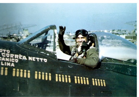 Lt Othon Correa Netto executed 58 combat missions