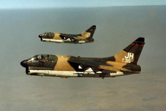 xA-7Ds 71-315 71-371 JH