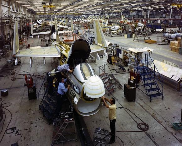 xA-7E production line - 1