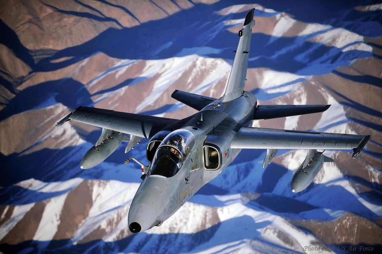 AMX no Afeganistão em dez 2009 - foto USAF