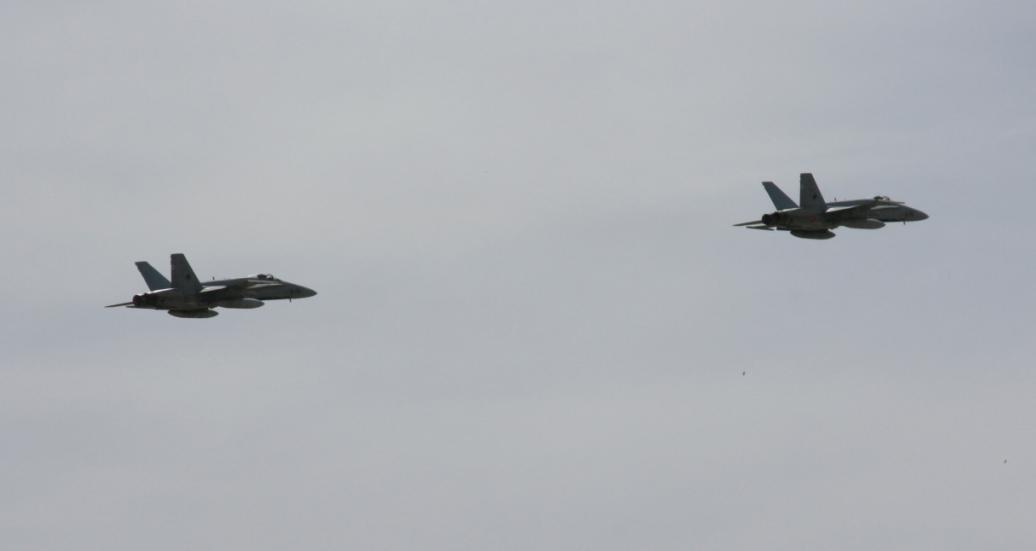 EF-18 no TLP - foto Ejercito del Aire