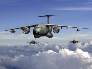 KC-390 - imagem via FAB