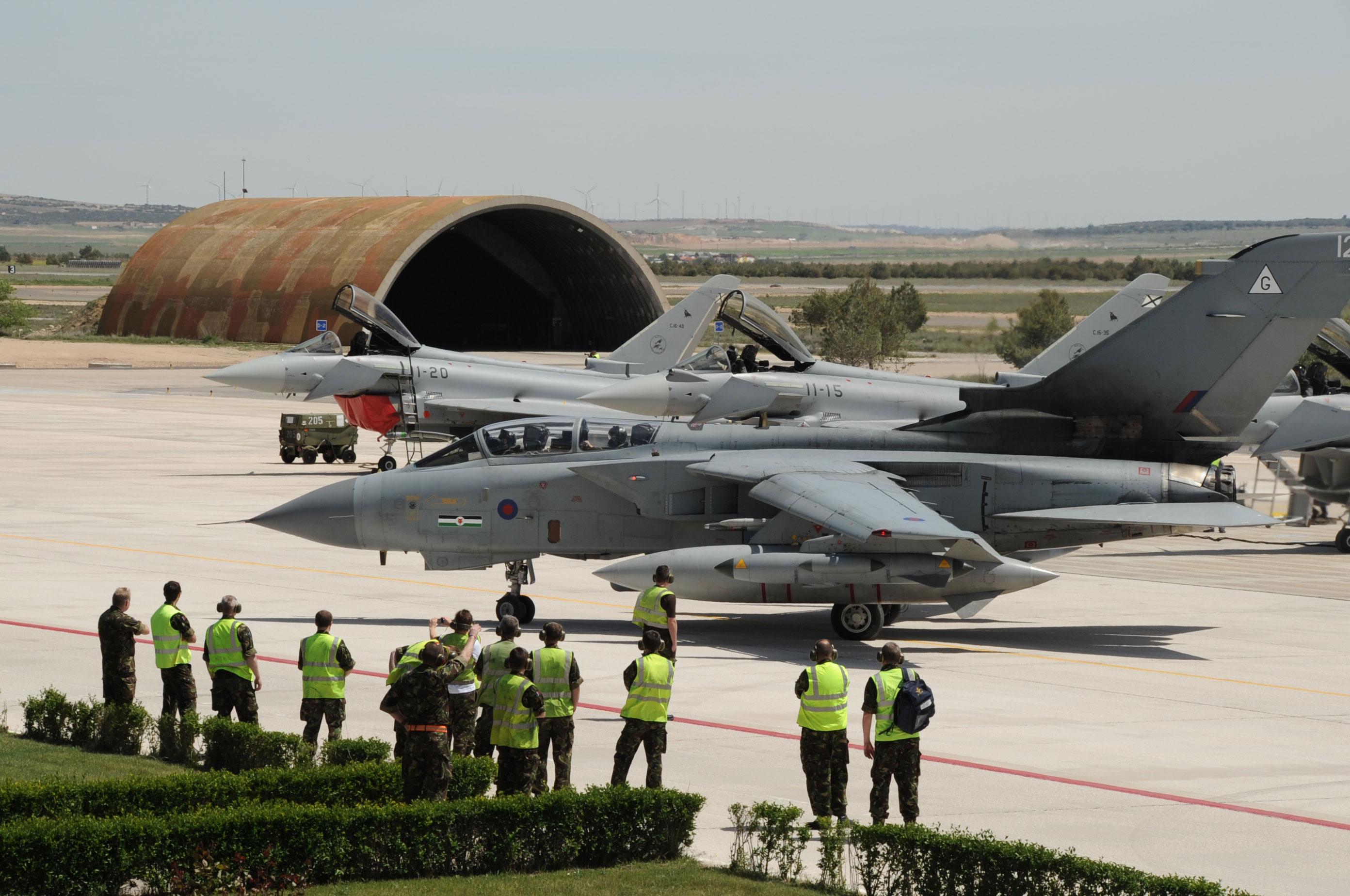 TLP abril - maio em Albacete - foto 4 Ejercito del Aire