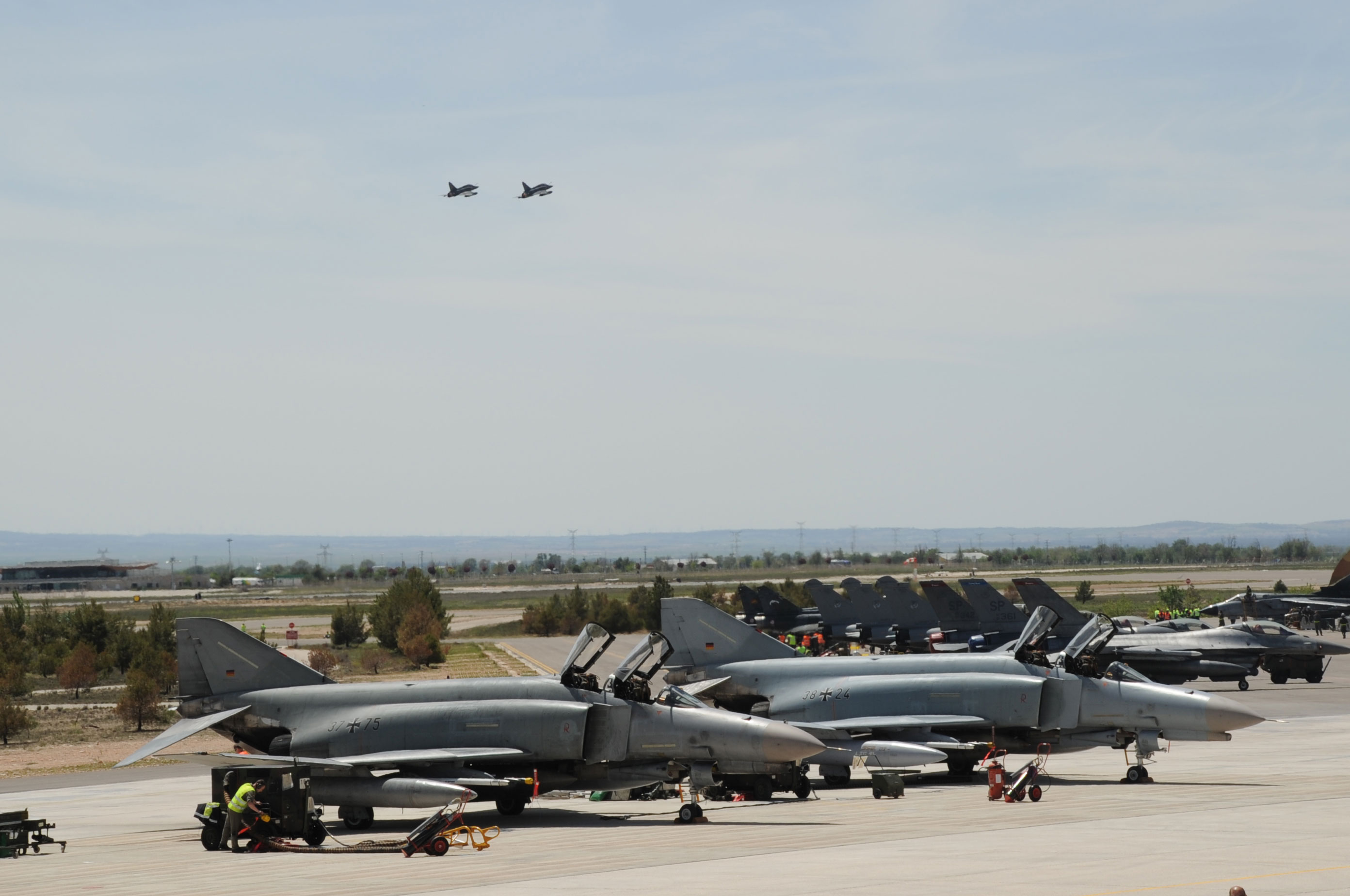 TLP abril - maio em Albacete - foto Ejercito del Aire