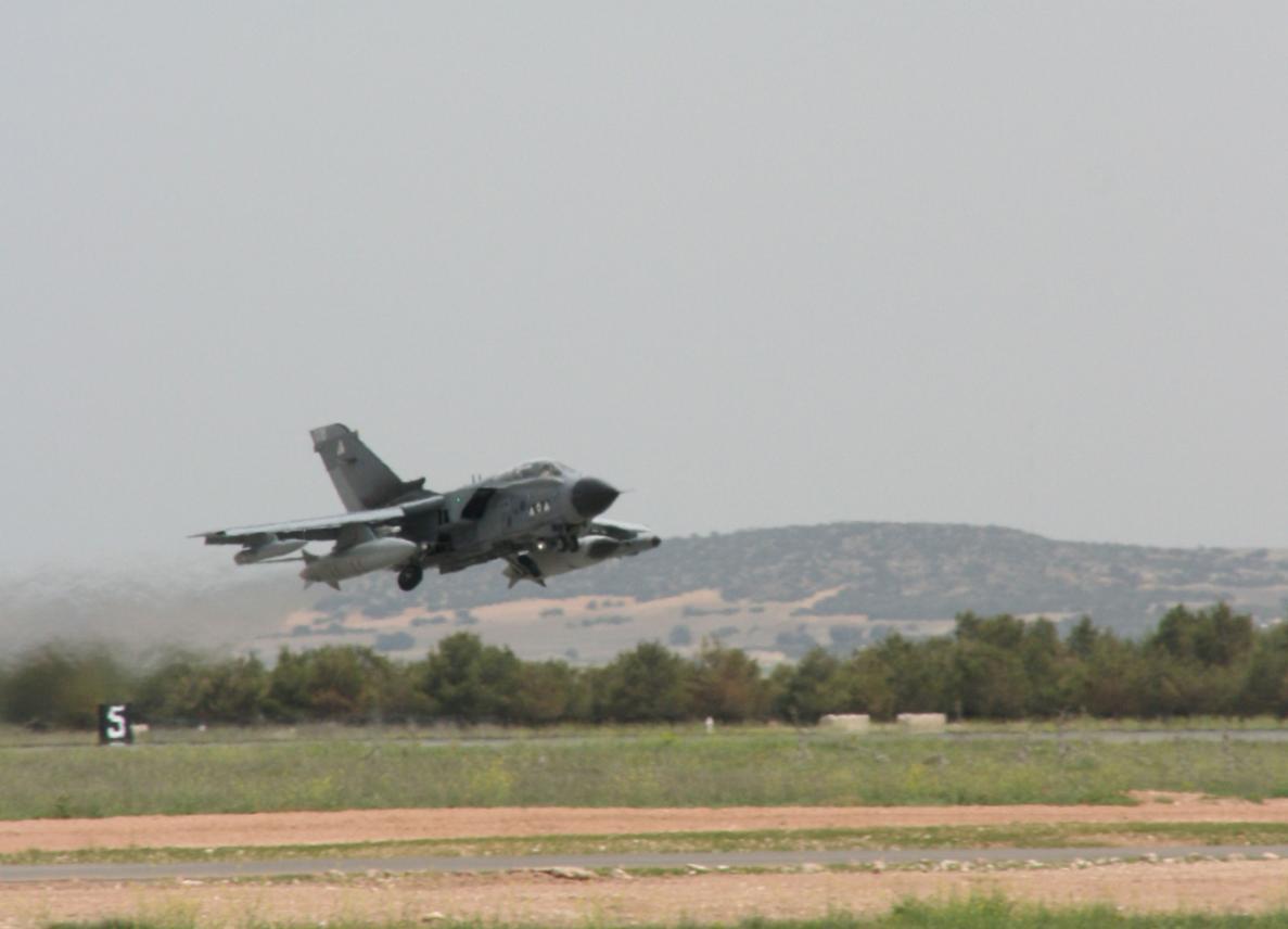Tornado no TLP - foto Ejercito del Aire