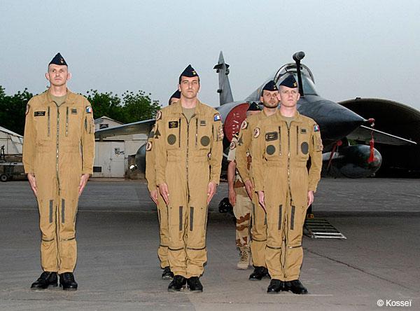 Mirage F1 despedida Chade - foto 2 Armee de lair