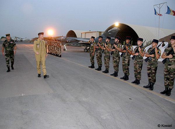 Mirage F1 despedida Chade - foto 3 Armee de lair