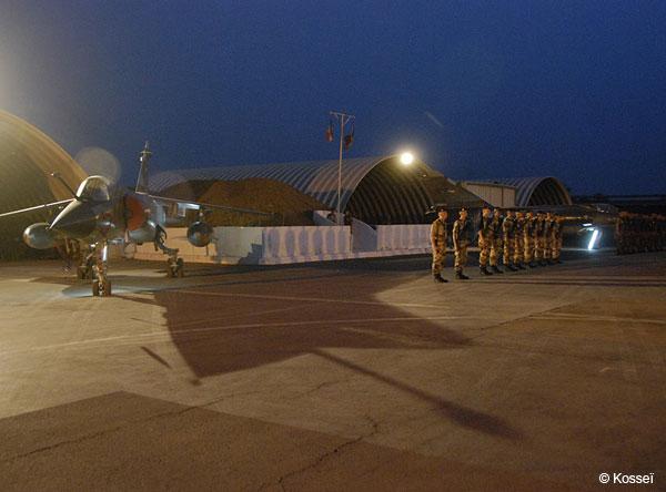Mirage F1 despedida Chade - foto Armee de lair