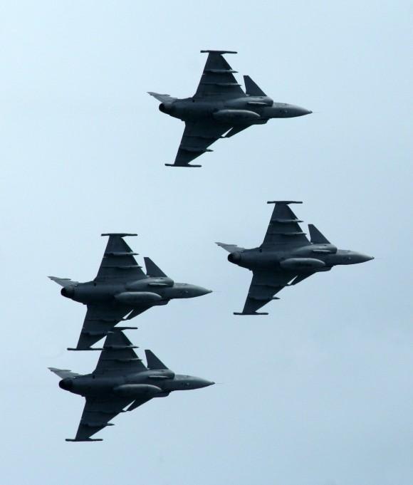 Poder Aéreo na Suécia - 9