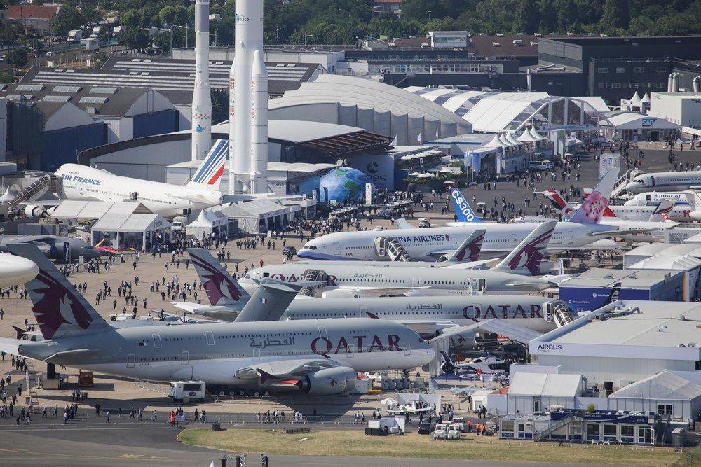 Paris air show pequenas e m dias empresas brasileiras ganham espa o poder a reo for as - Salon du musulman bourget ...