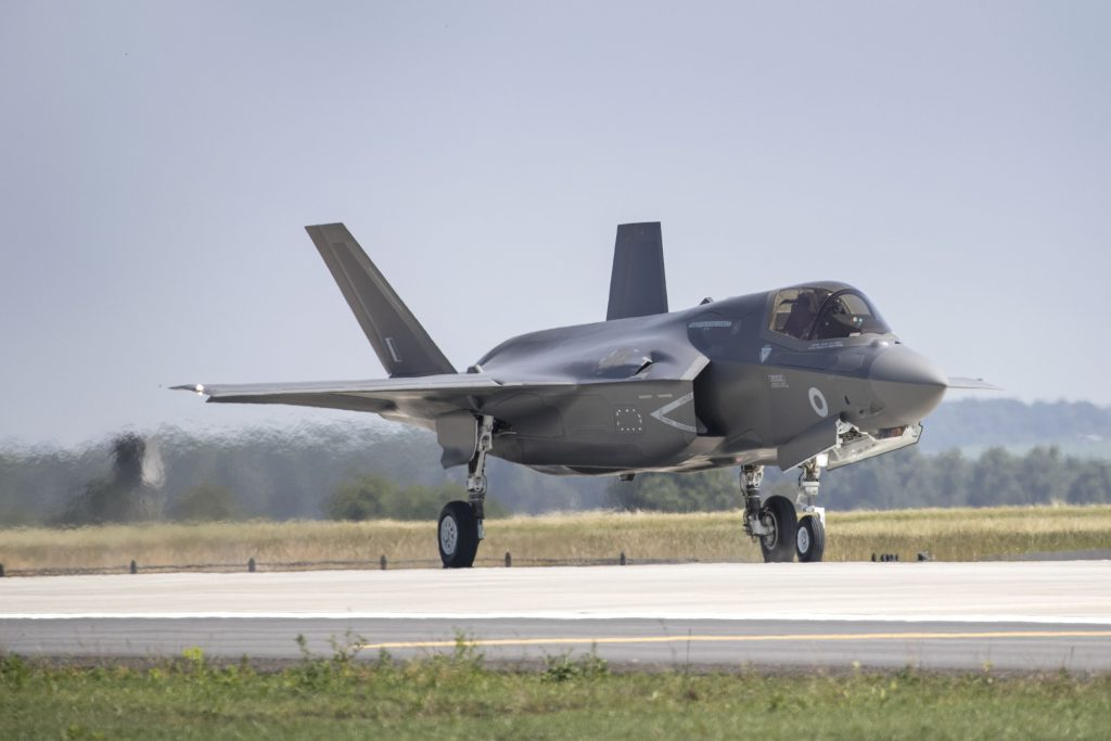 First-F-35-sortie-took-place-at-RAF-Marh