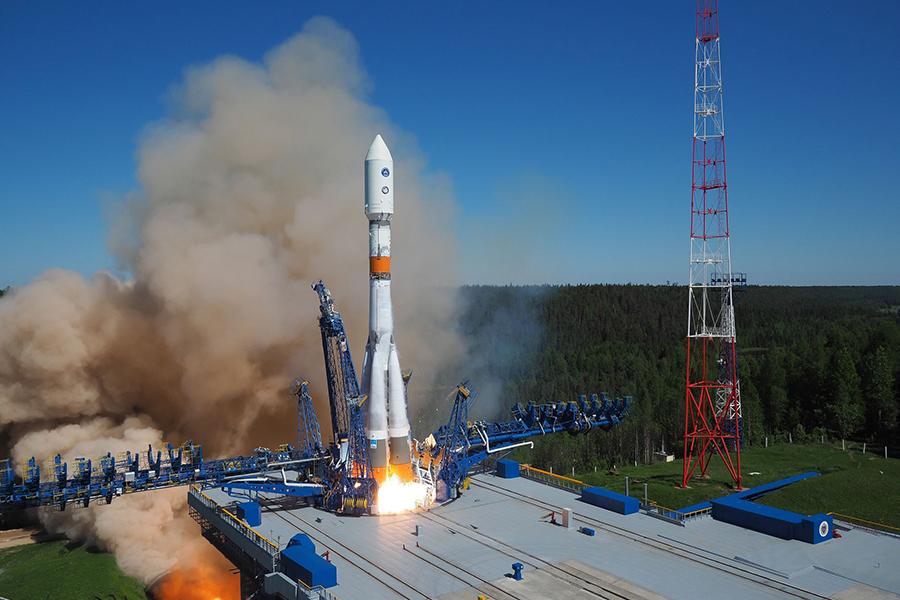 foguete-Soyuz-2-com-sat%C3%A9lite-GLONAS